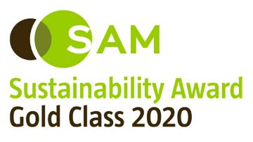 Logo premio Sustainability Yearbook di SAM